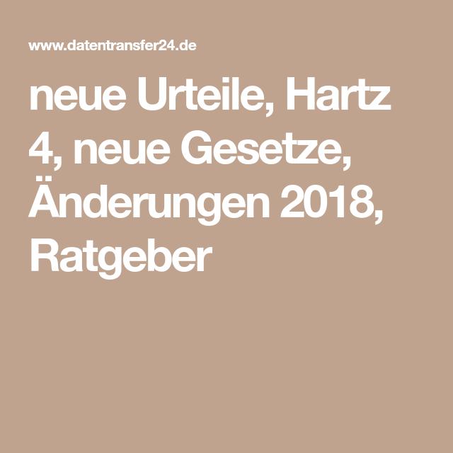 Neues Hartz4 Gesetz 2020