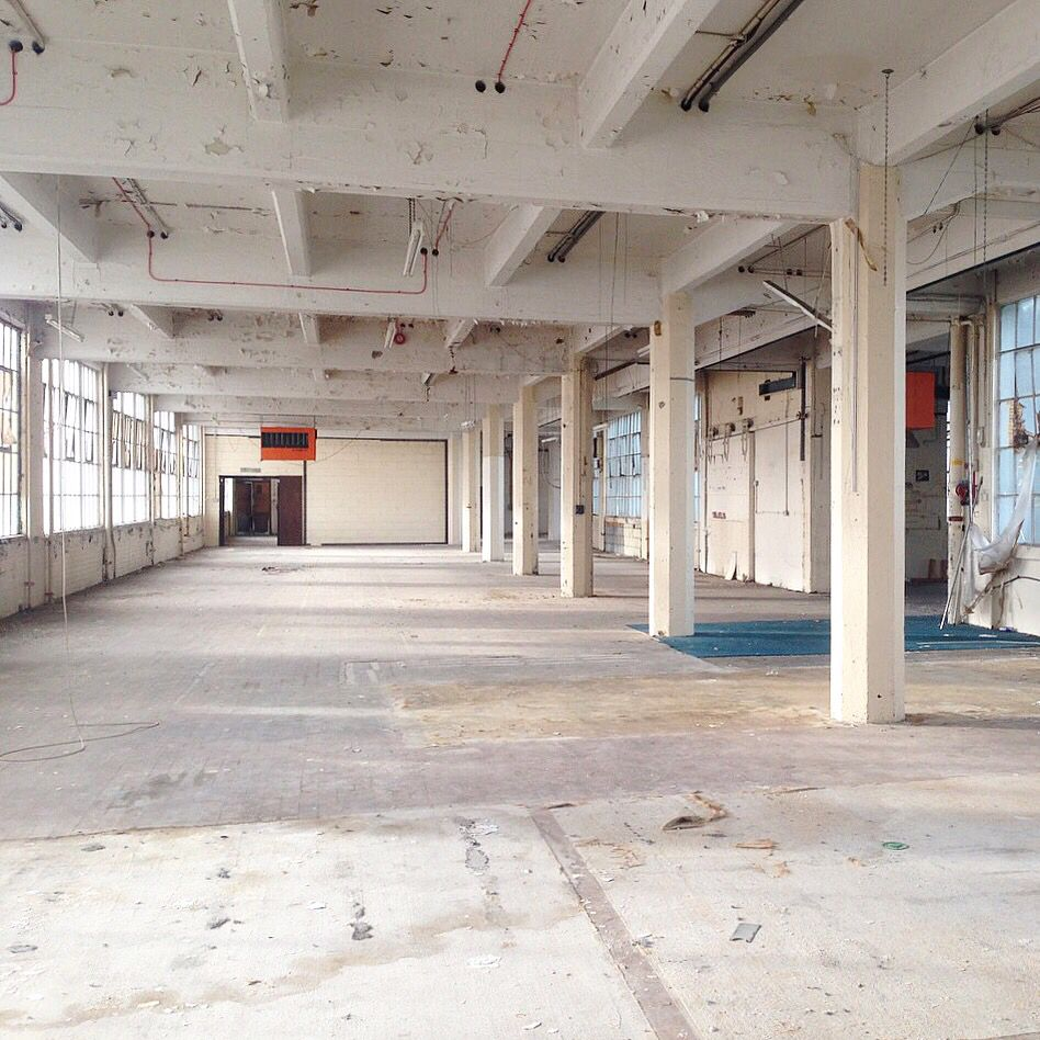 Empty warehouse spaces in London Re Work It Pinterest