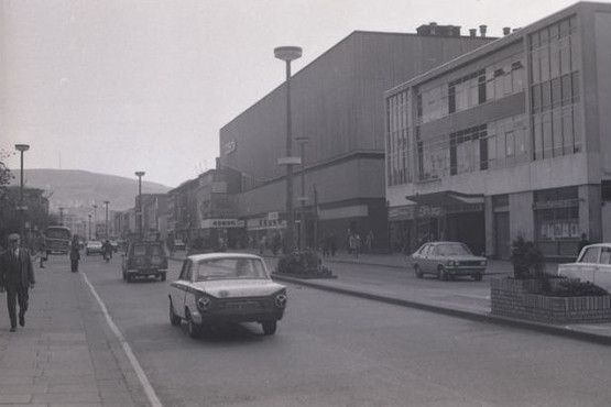 Changes Swansea City Centre Through The Decades Swansea City Old Photos