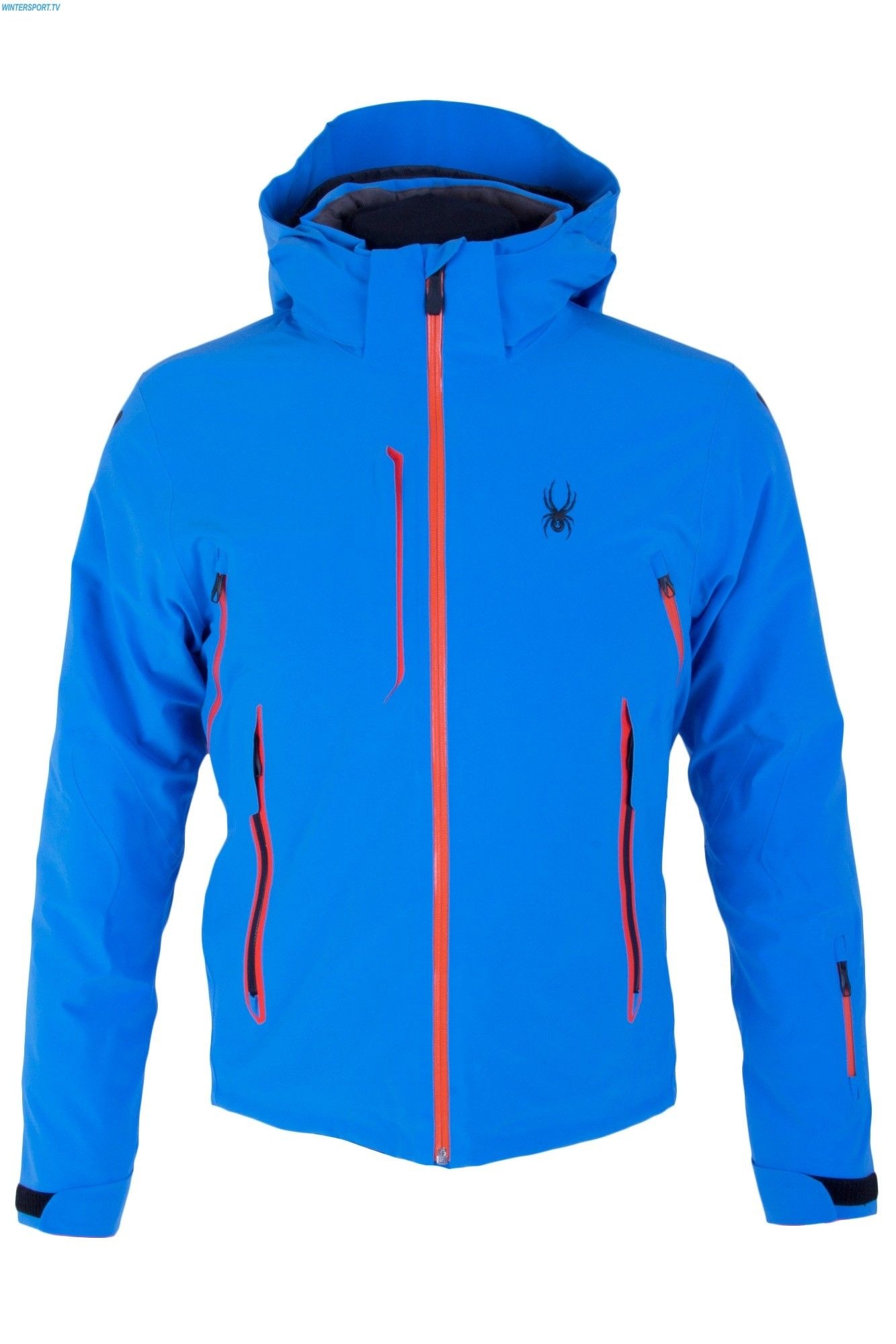 66fb1c67f681 Spyder Men Vanqysh Jacket - French Blue Burst