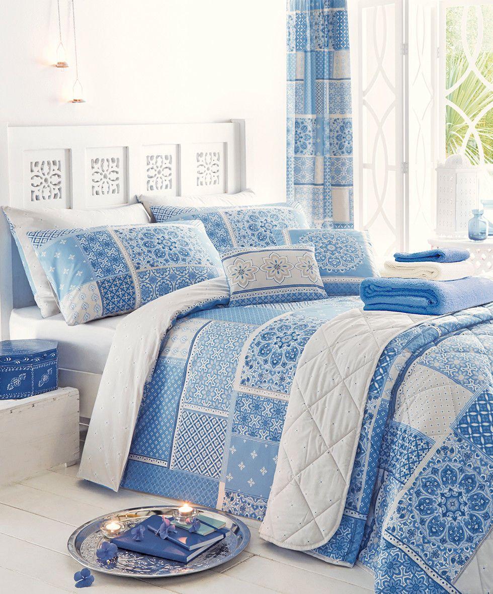 Details about Shantar Bedding Blue Shades Duvet Cover Set