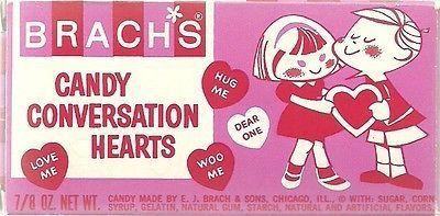 Brach's conversation hearts candy