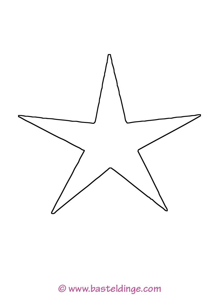5 Zacken Stern 396 Malvorlage Stern Ausmalbilder Kostenlos, 5 Zacken ...
