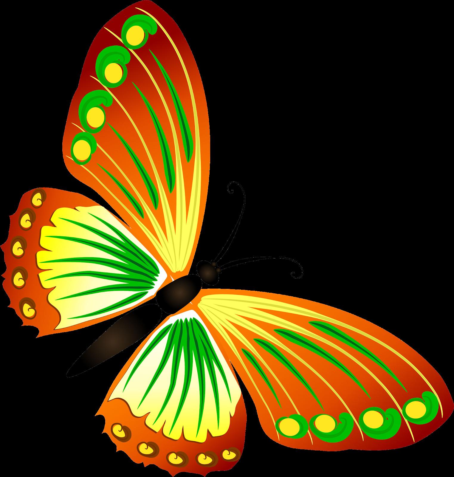 Бабочки - часть 2 - на прозрачном фоне | Бабочки ...