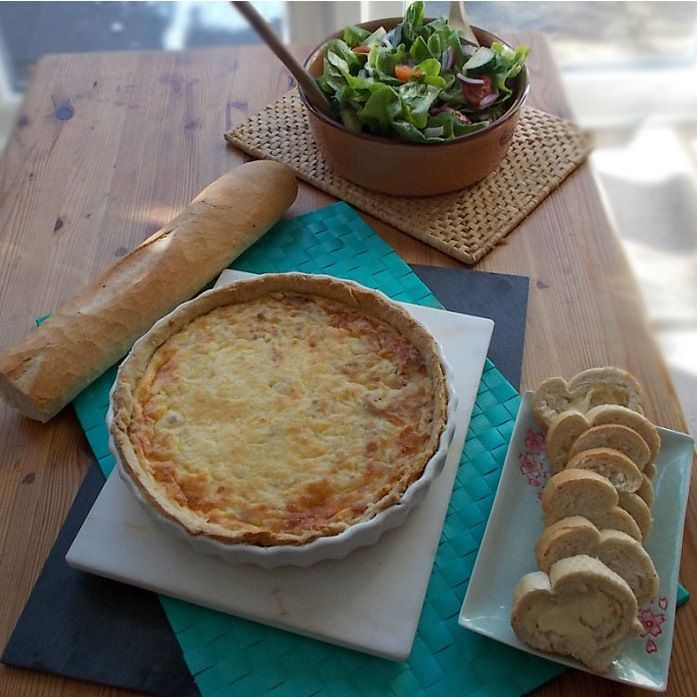 Homemade Tuna Quiche With Images Homemade Pastries