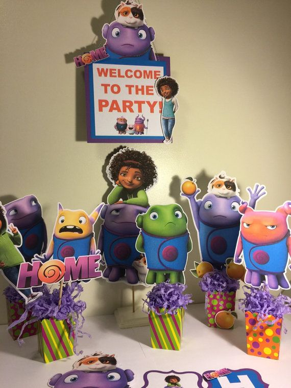 Dreamworks Home Party Pack Dreamworks Etsy and Birthdays