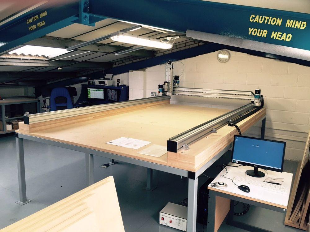 CNC Machine / Router MDL10'x5' *200mm Rack & Pinion