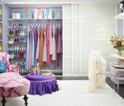 Elfa Classic Wardrobe Interior Storage Solution In White With Plenty Of  Shoe Storage For Up To 63 Pairs Of Shoes!