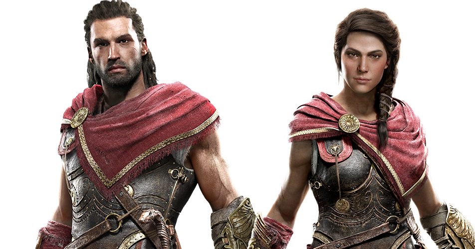 Assassin S Creed Odyssey Alexios Kassandra Children Of Sparta On