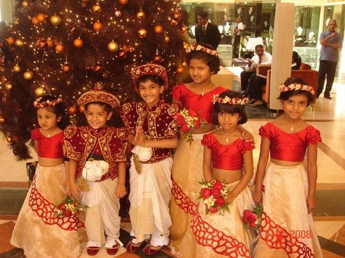 Sri Lankan Flower Girl Dresses