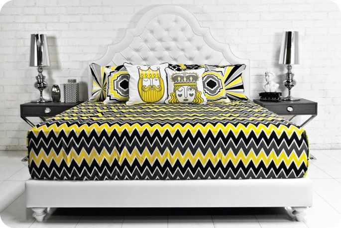 Black White And Yellow Bedroom Ideas 3 Custom Decoration
