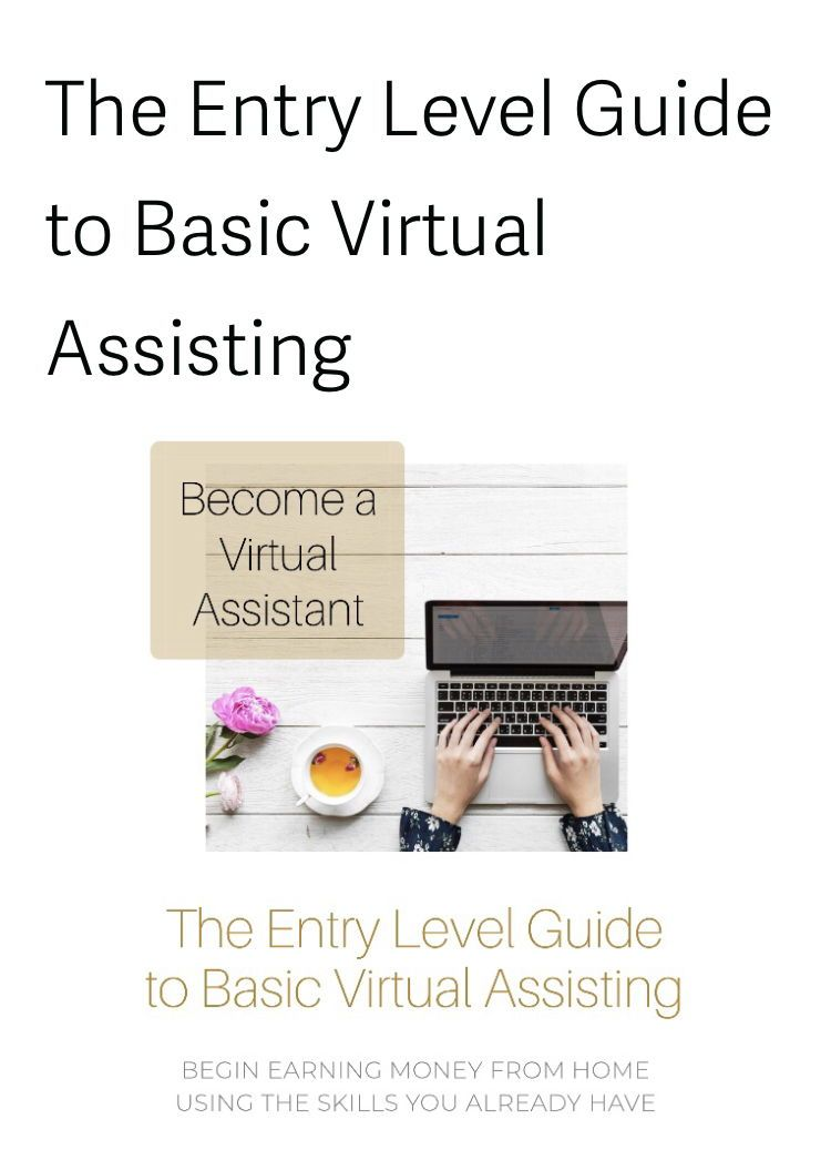 a Virtual Assistant with even the most basic skills