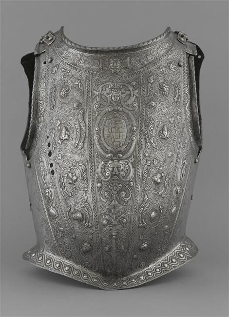 Corselet de Jean d'Homédès. PÉRIODE 16e siècle. Renaissance (période). France…