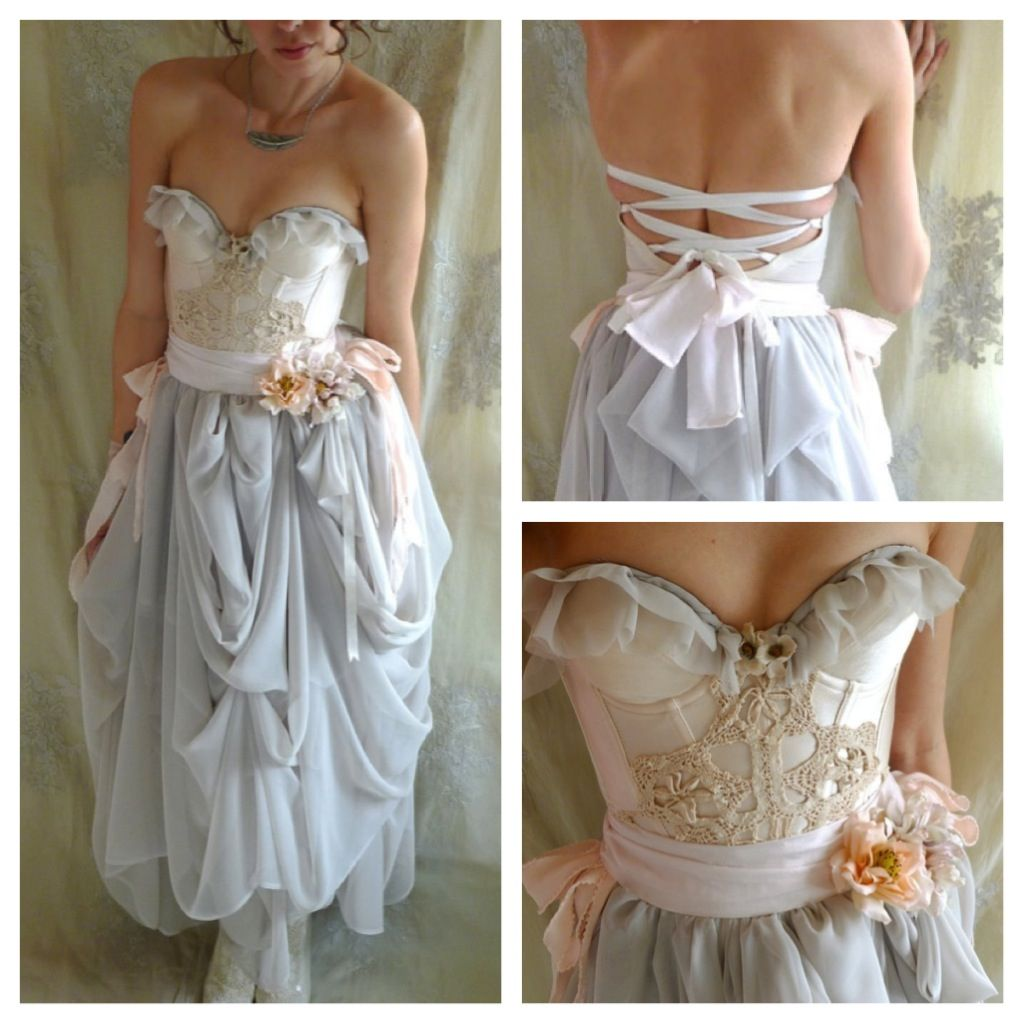 Non Traditional Wedding Dress Boho