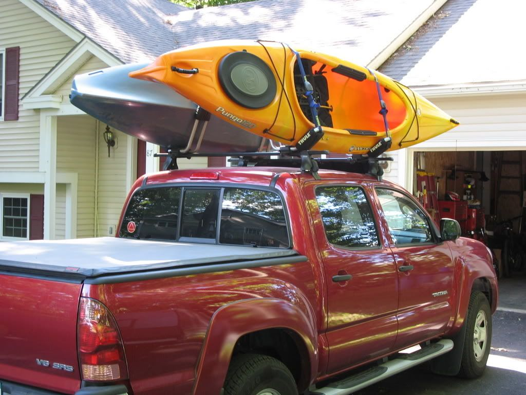 Canoe/Kayak Racks for your Taco? (With images) Kayak