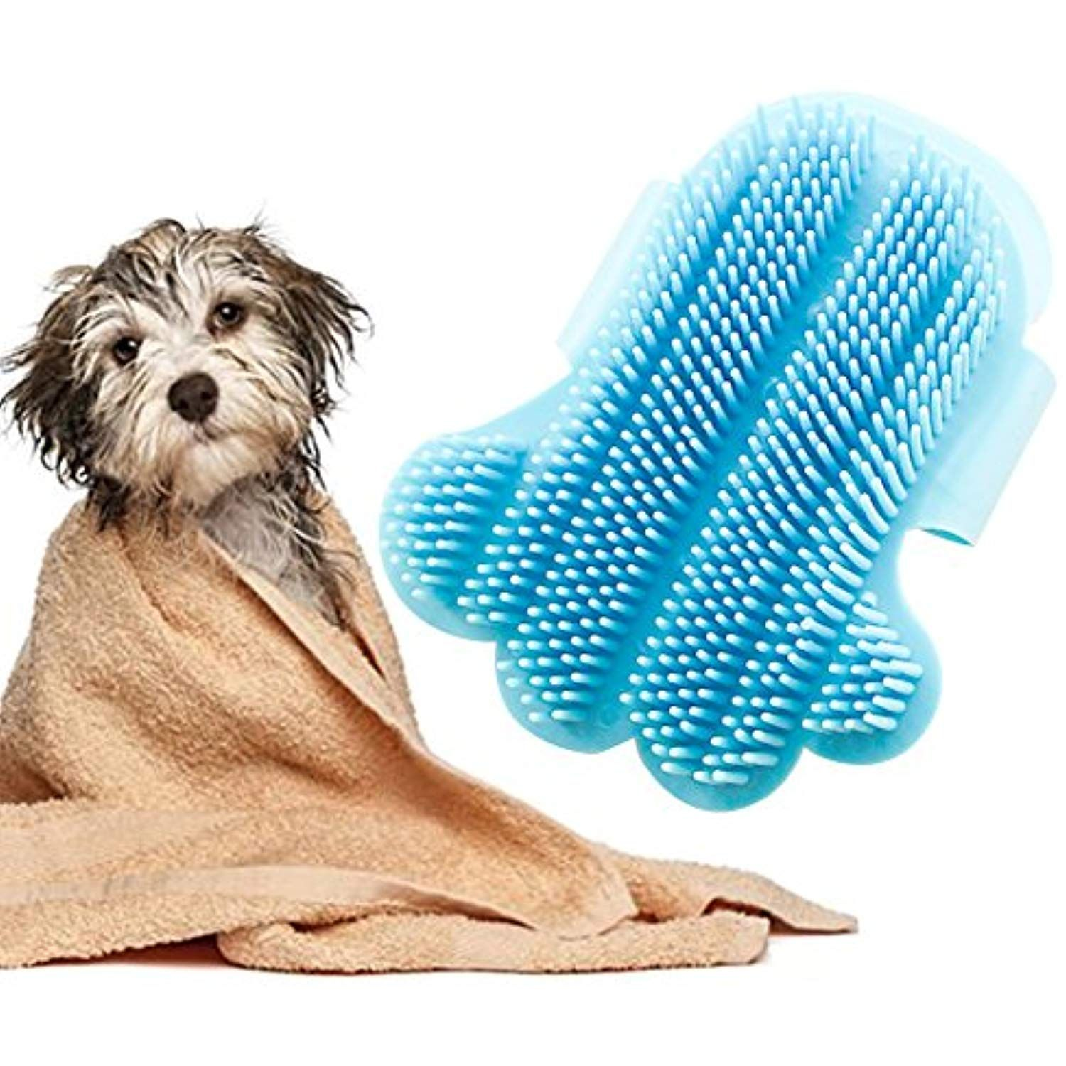 Dog Brushes For Grooming Pet Grooming Glove Shedding Cat Grooming