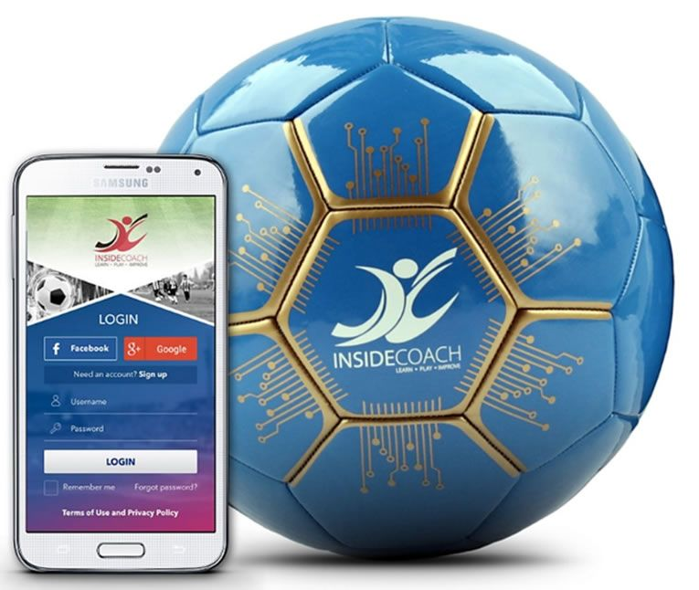 Smart Soccer Ball Trainer Teaches Young Athletes Mad Skills Soccer Ball Soccer Young Athletes