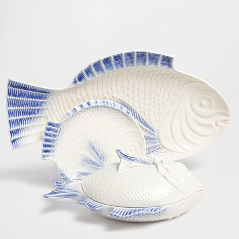 FISH-SHAPED TABLEWARE - Dinnerware - Tableware | Zara Home Denmark & FISH-SHAPED TABLEWARE - Dinnerware - Tableware | Zara Home Denmark ...