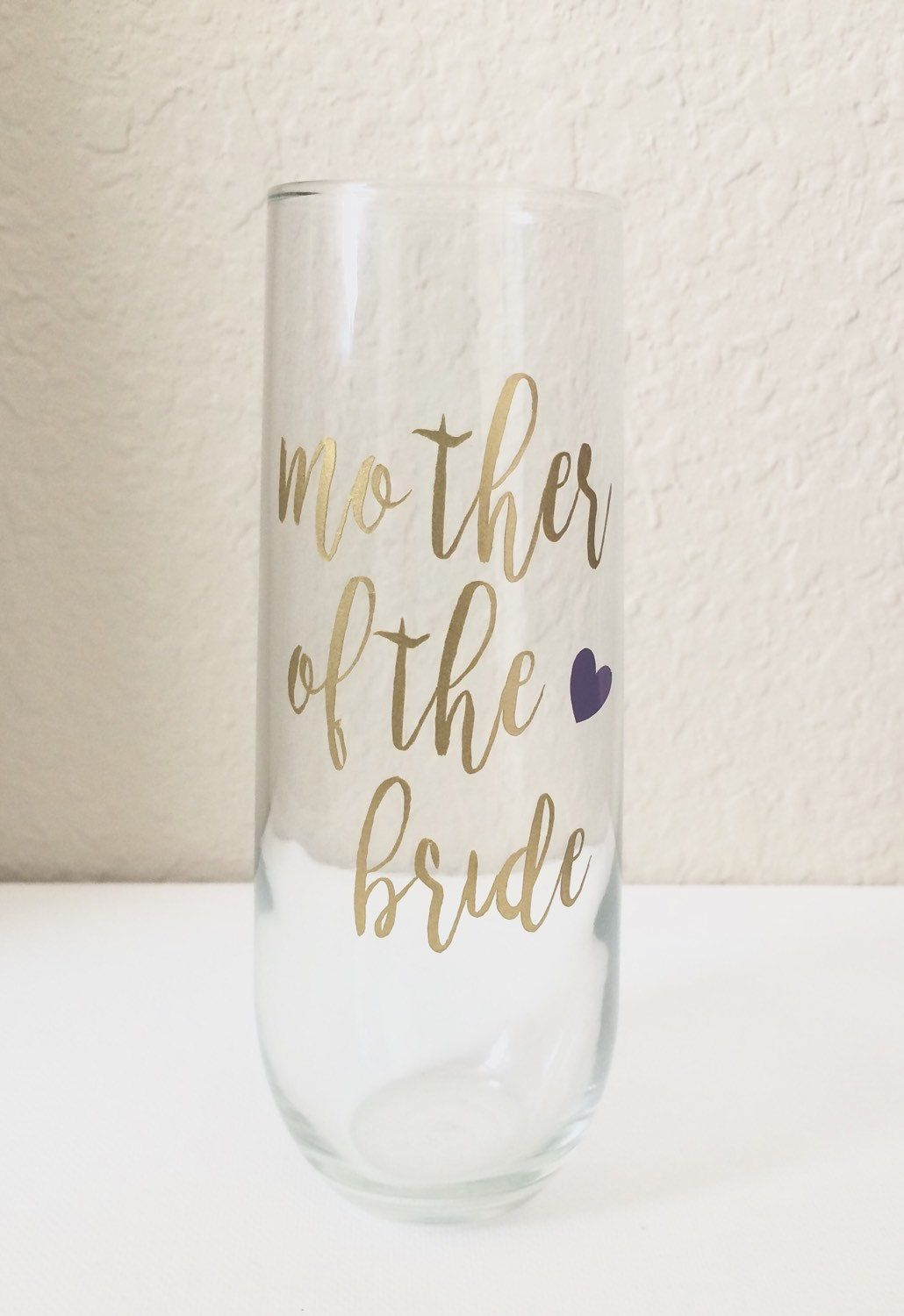 Wedding Stemless Champagne Flutes - Personalized Stemless Champagne ...