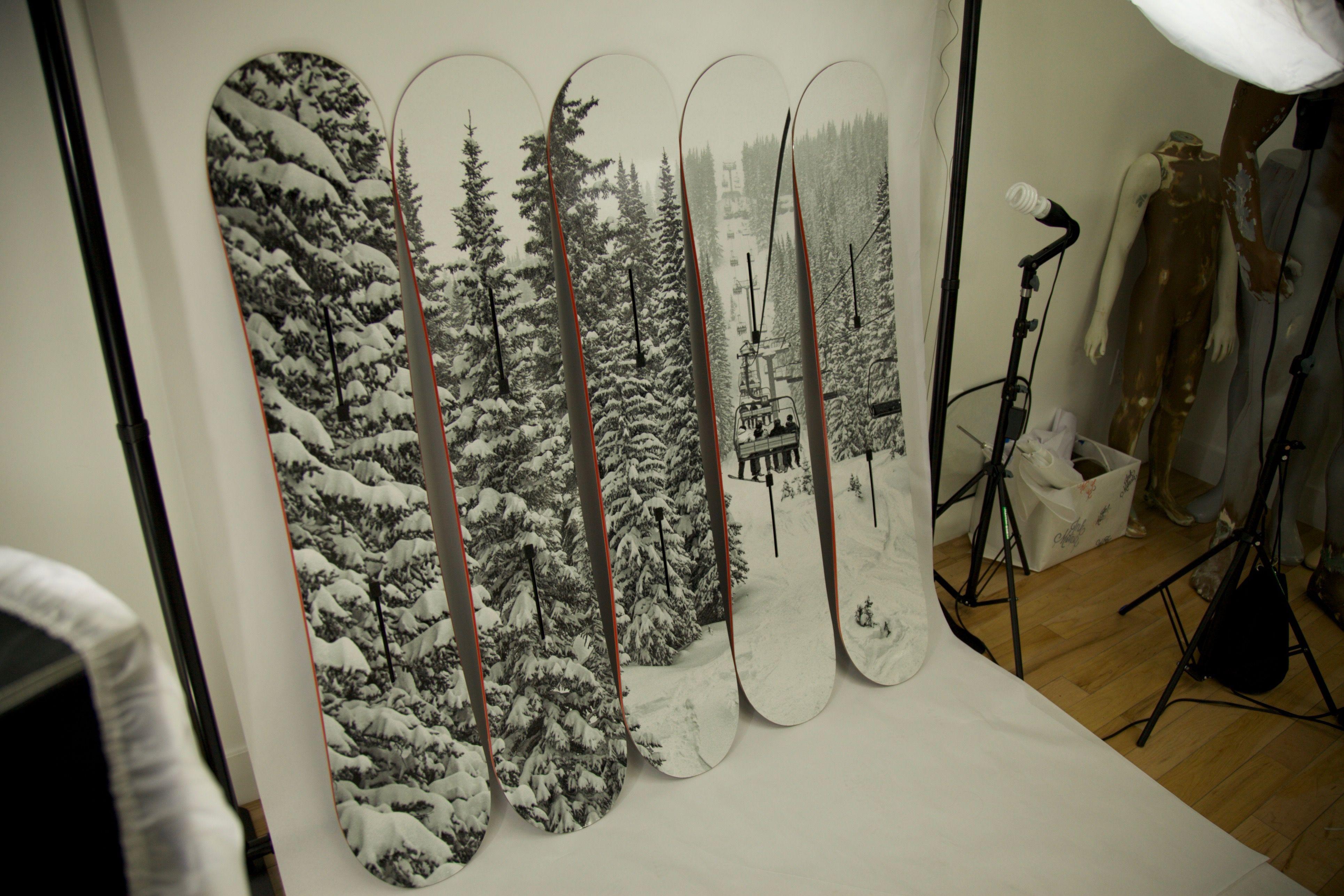 Ink Monstr Snowboard Wraps Custom Graphics Graphic Design Company Prints