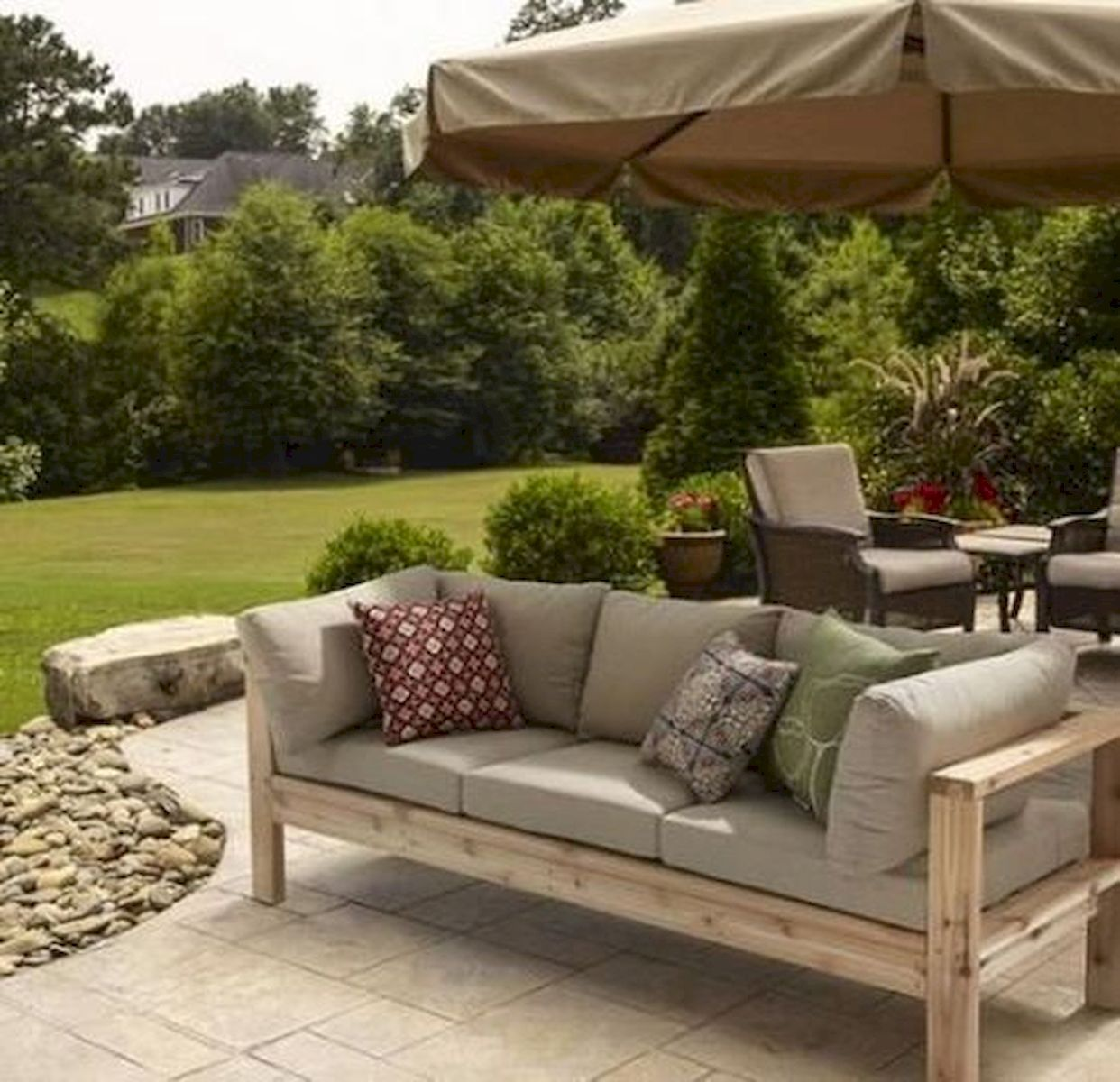40 creative diy outdoor bench ideas for backyard and front