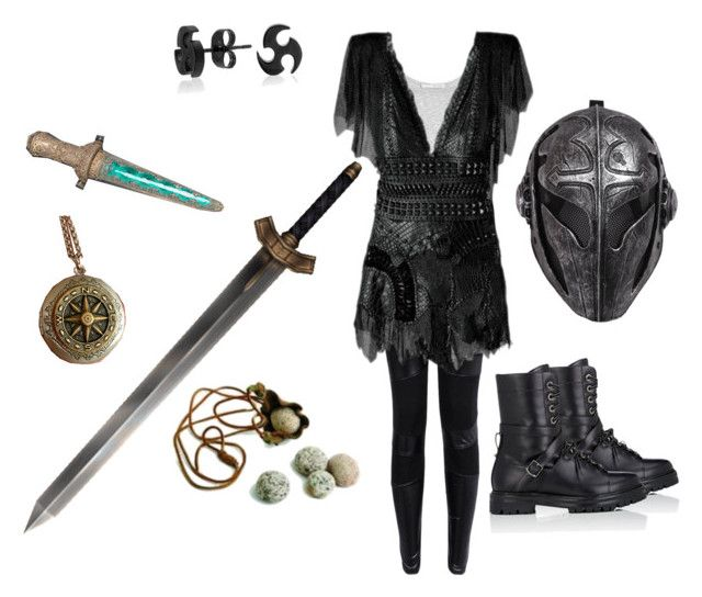 """The Warrior Inside of Me"" by baileyem-1 on Polyvore featuring Vince, Valentino and Bling Jewelry"