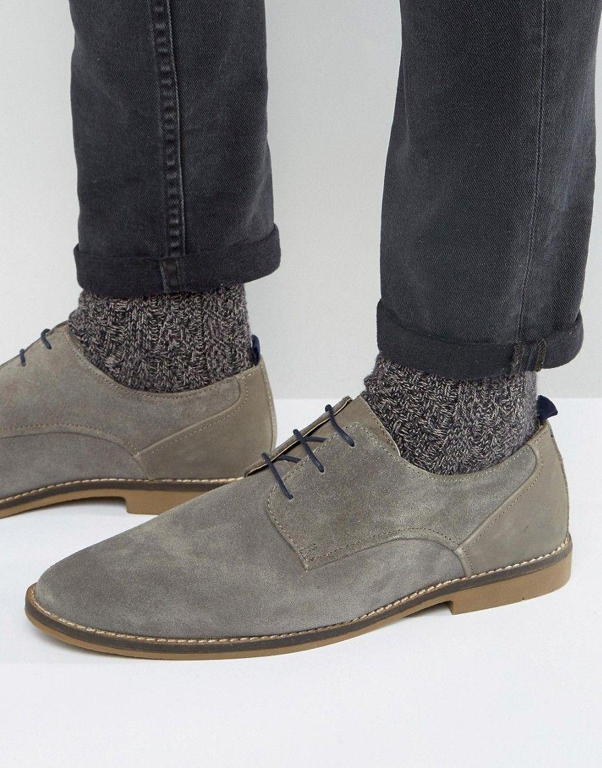 Cheap New Kg Kurt Geiger Black Zac Leather Derby Shoes for Men Online Sale Sale Online