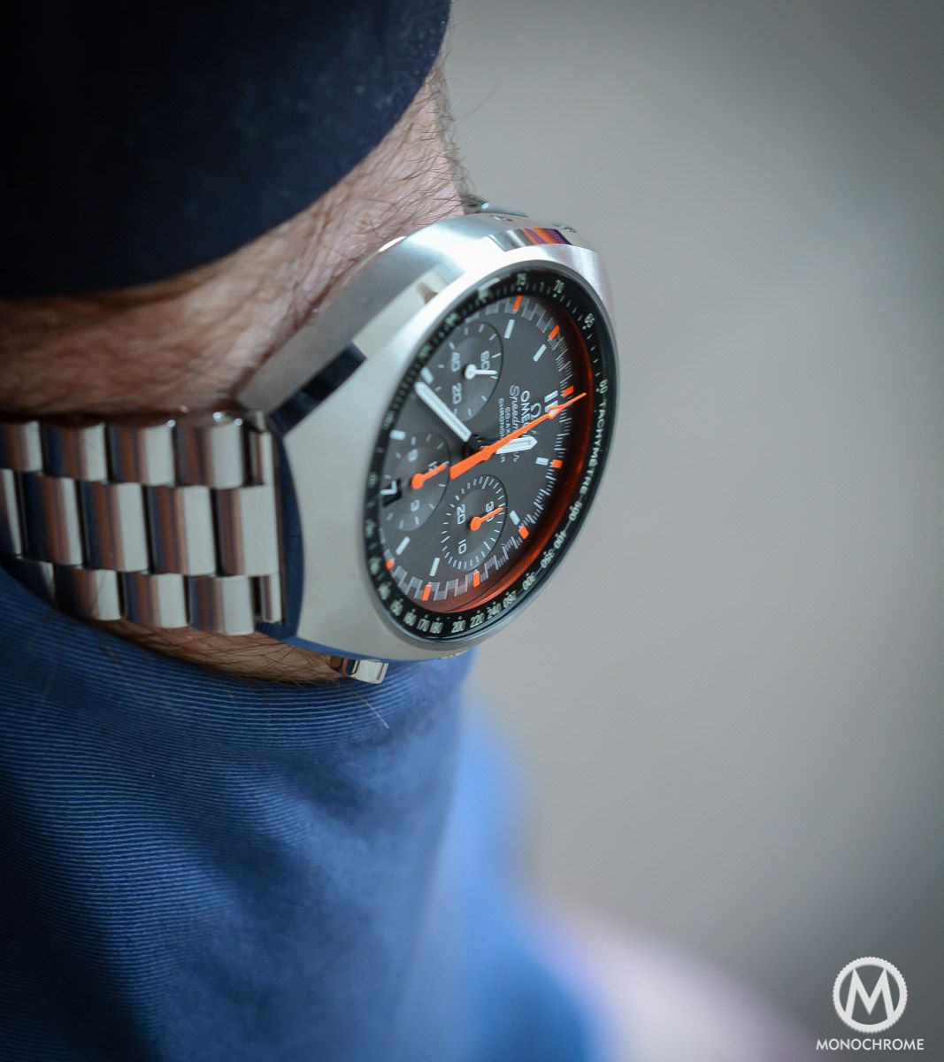 Watch review: Omega Speedmaster MKII Watch review: Omega Speedmaster MKII new foto