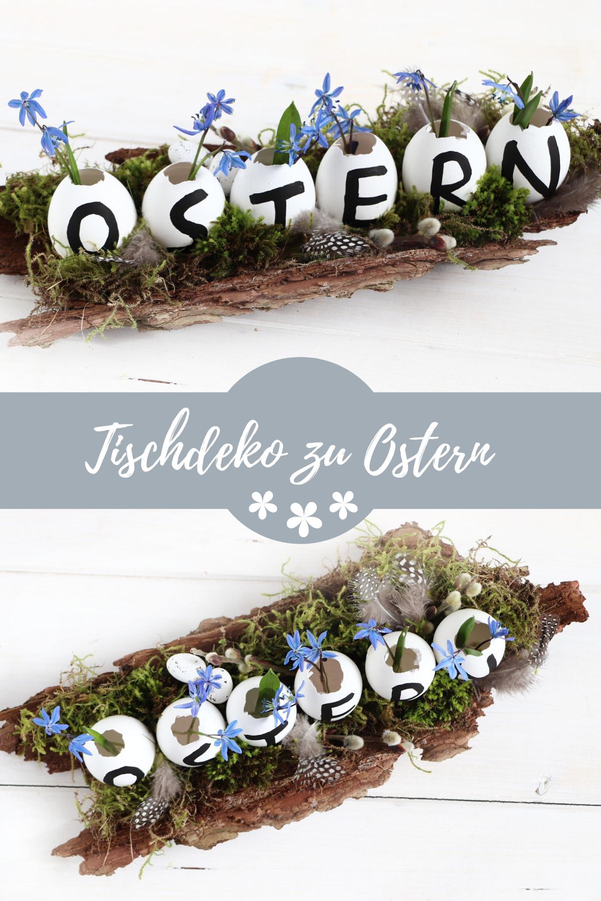 Ostern: Tischdeko-Idee