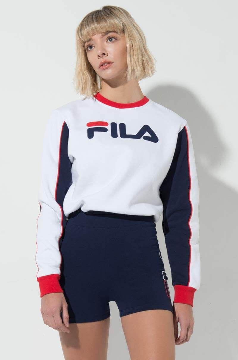 933cd96813ac FILA NURIA COLORBLOCK SWEATSHIRT in 2019   Products   Clothes for ...
