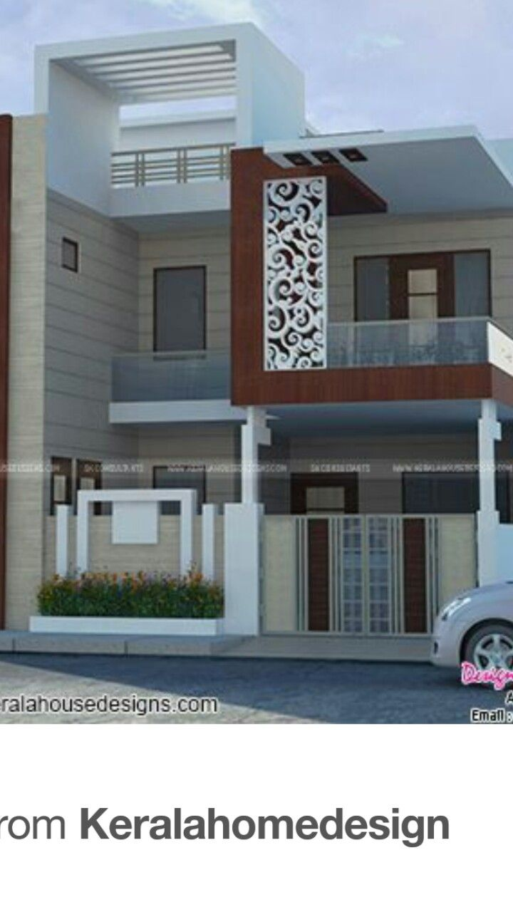Pin By Vani Jain On Modern Houses Small House Elevation Design House Front Design Duplex House Design
