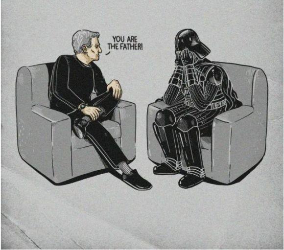 Darth Vader on Maury