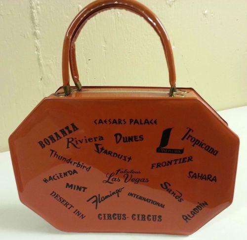 Vintage Las Vegas Handbag Las Vegas Vegas Vintage Purse