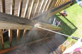 How To Remove Paint From A Wooden Deck Decks Cleaning
