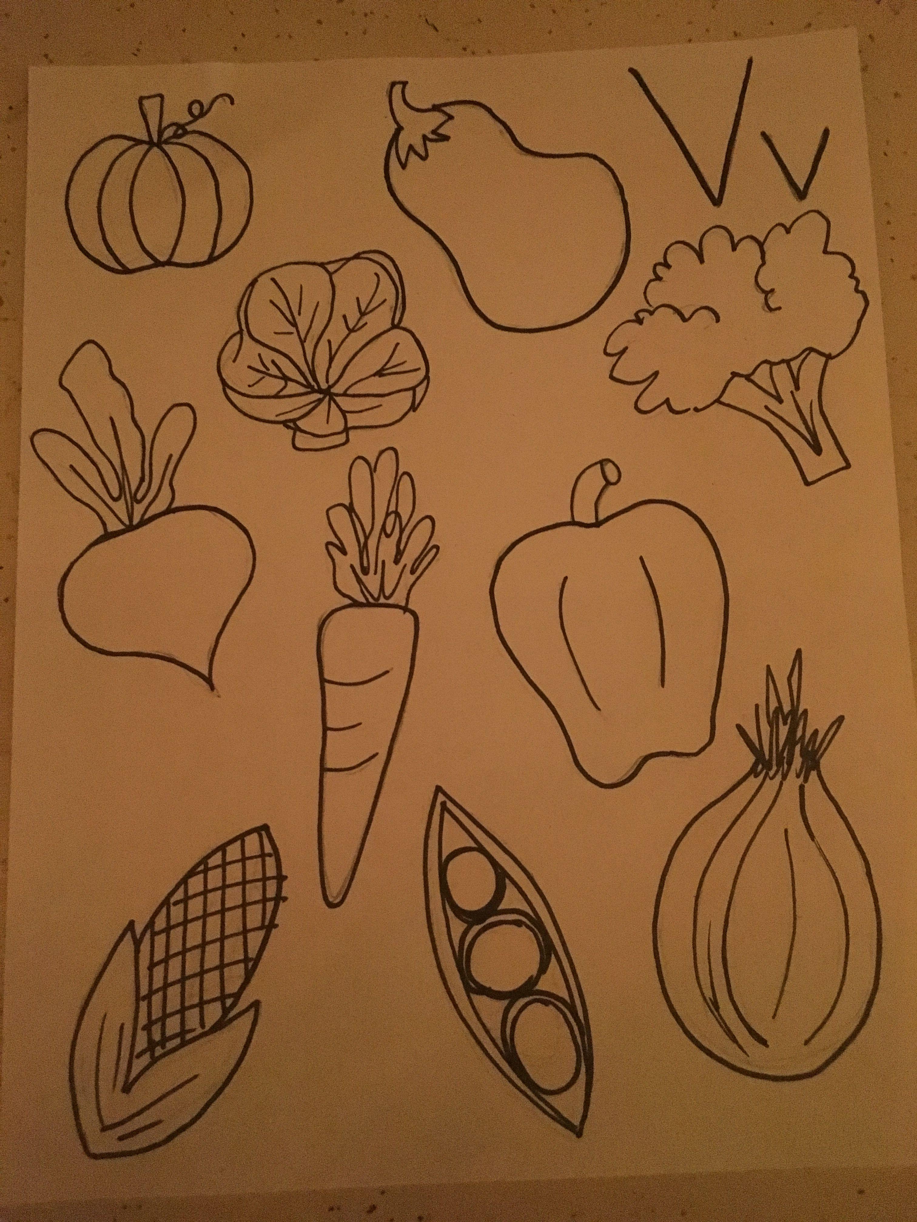 V For Vegetable