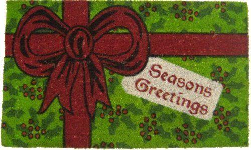 18x30 XMAS Door Mat By FIBERWONDERS IMPORT. $10.99. Seasons Greetings!. 18