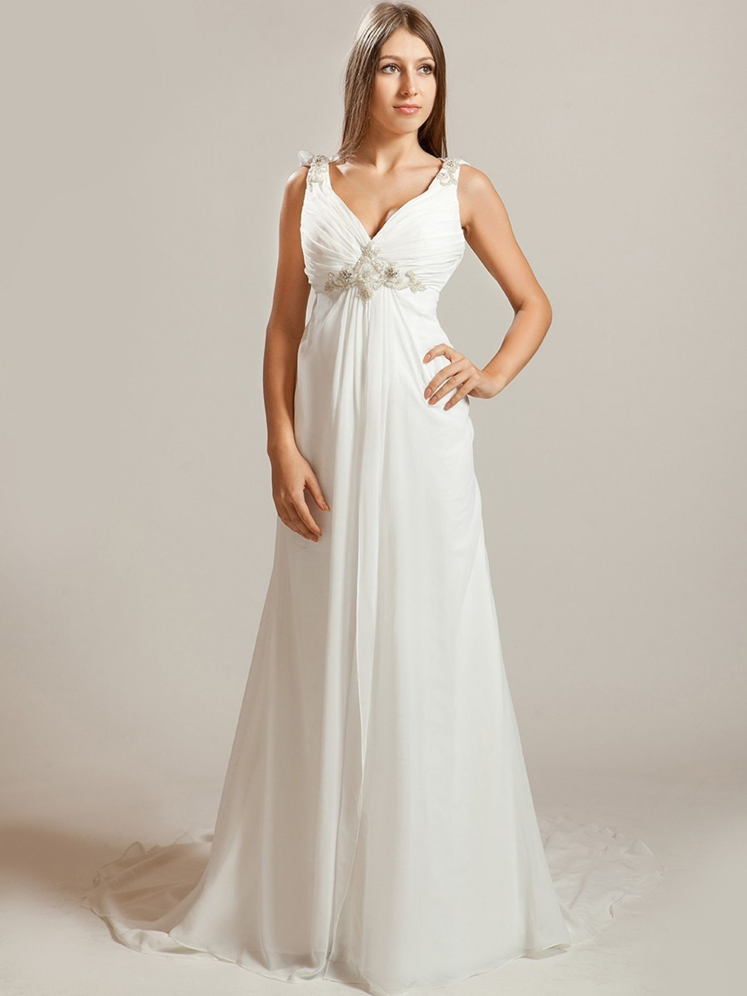 Cowl back lace wedding dress  summer casual wedding dresses  plus size dresses for wedding guest