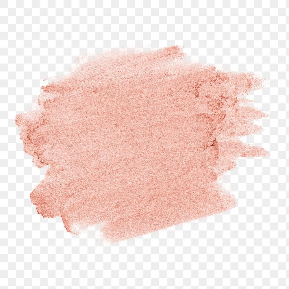 Metallic Rose Gold Pink With Coral Shade Glitter Brush Stroke Free Image By Rawpixel Com Karn Brush Stroke Png Brush Strokes Watercolor Splash Png