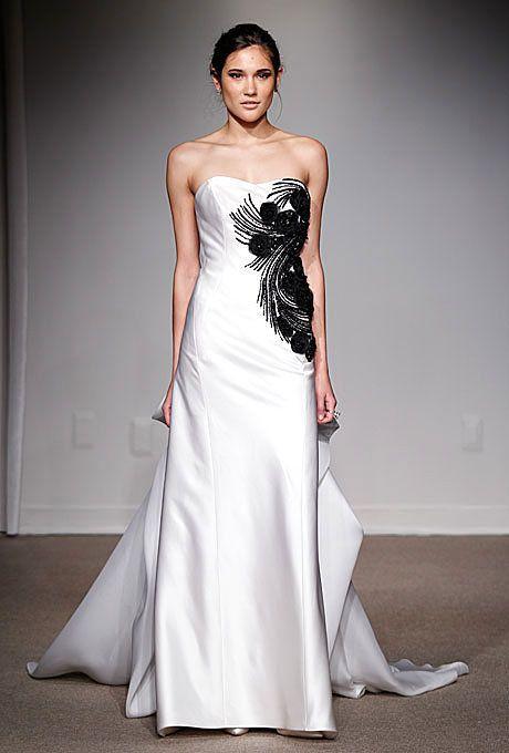 Anna Maier Ulla Maija 3501 Dominica Couture Wedding Gown Wedding Dress Couture Wedding Dresses Black Wedding Dresses