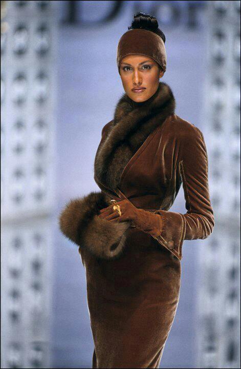 Christian Dior Suit w/Fur