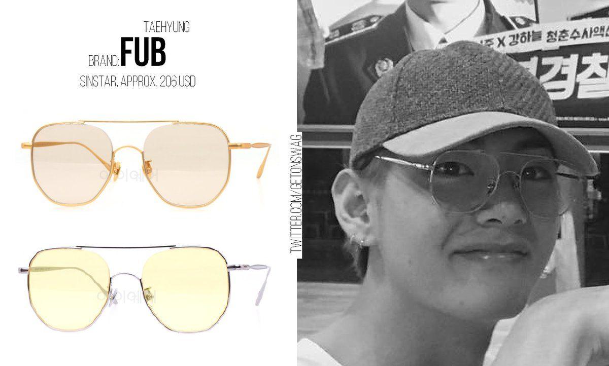 d195c345e8 TAEHYUNG  BTS 170814  TAEHYUNG  태형  방탄소년단 FUB - sinstar (sv yellow   green   agd brown   ) glasses pic.twitter.com gi0vn1nUCh