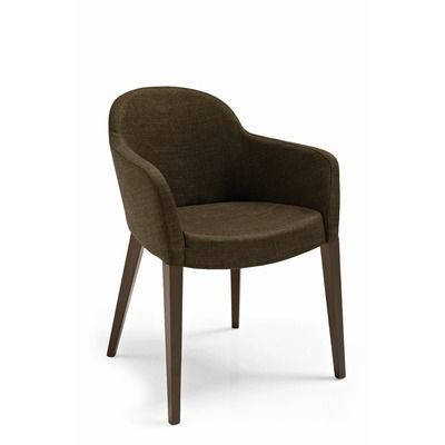 Calligaris gossip chair 528 accent chairs for Contemporary dining chairs with arms