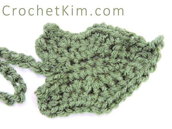 Pumpkin Leaf Free Crochet Leaves And Crochet