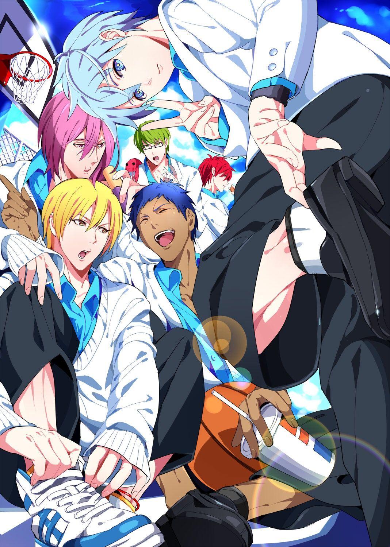 Kuroko S Basketball Part 8 Meleef 100 イラスト 集合絵 キセキ