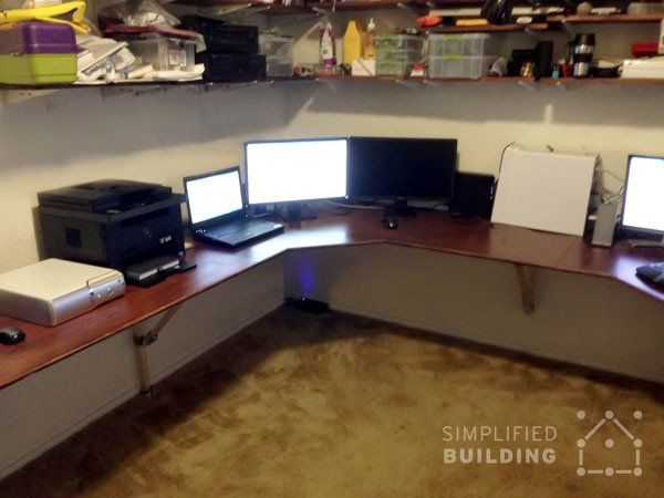 7 Diy Corner Desk Ideas Diy Corner Desk Corner Desk Small Space Office
