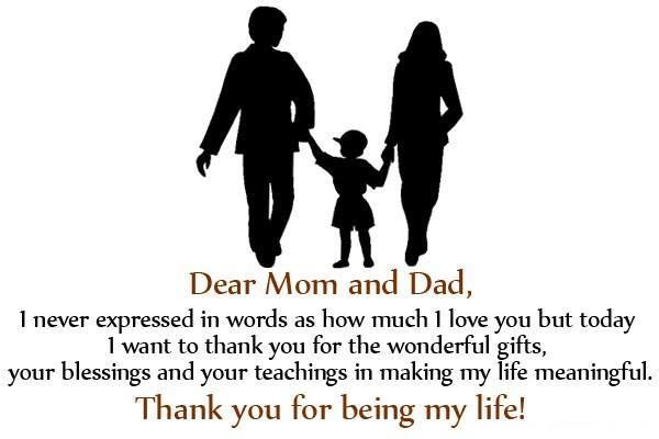 Thank You For Making My Life So Significant Parents Day Quotes Giving Quotes Dad Quotes