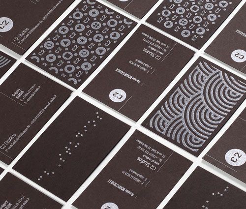 C2 business cards.