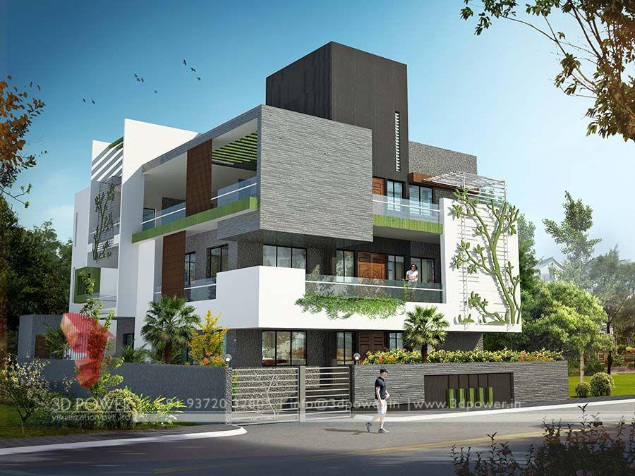 3d exterior design 900 675 architecture for 3d exterior home design