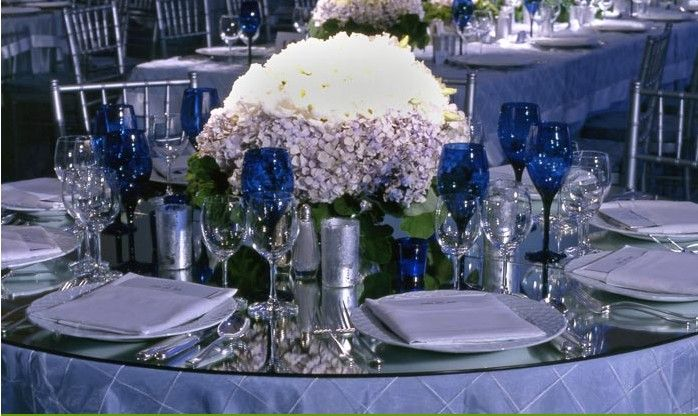 Old Hollywood Glamour Silver Navy Blue Wedding Blue Wedding Centerpieces Silver Wedding Decorations Silver Winter Wedding