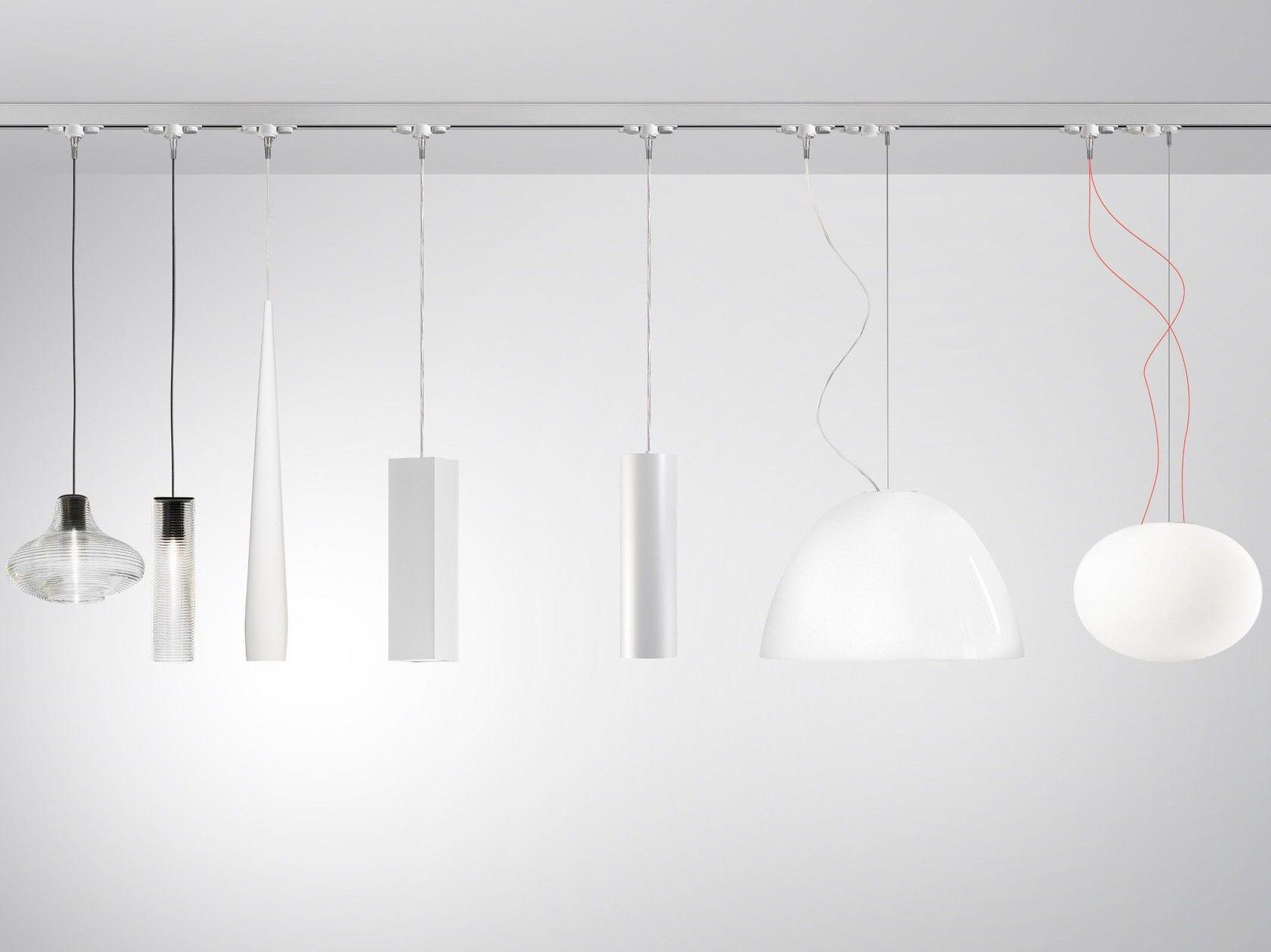 Illuminazione a binario in alluminio queens by panzeri sistema di